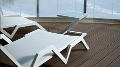AeroWood Standard Deck Plus WPC teraszburkolat, bársonyos barna
