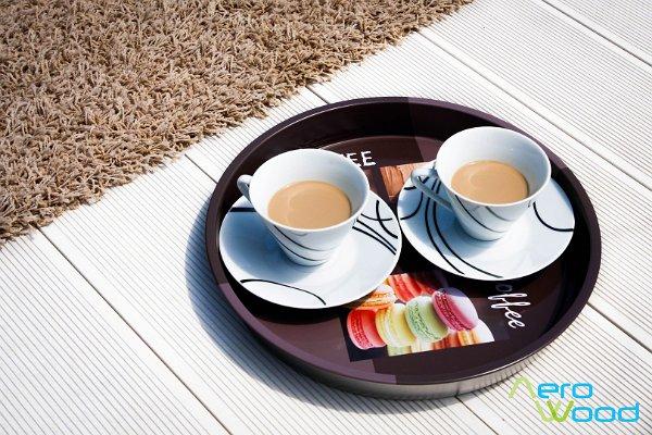 Terasz és kávé