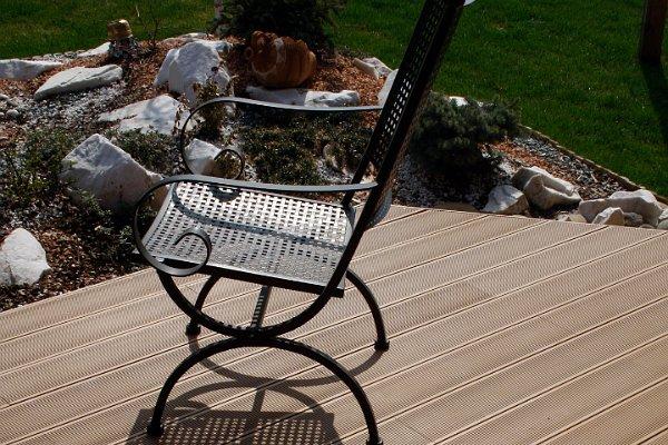 BPC terasz székkel