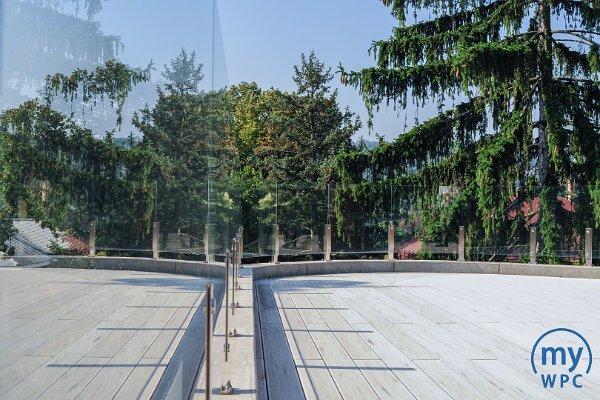 Tetőterasz panorámával