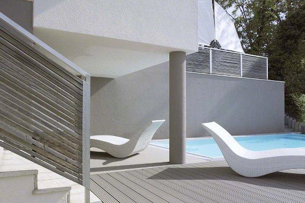 Modern terasz