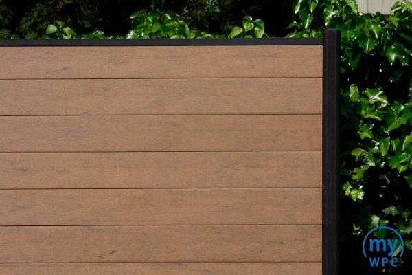 MyWPC fahéjas latte színű kerítés