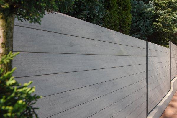 Fa-műanyag kompozit kerítés